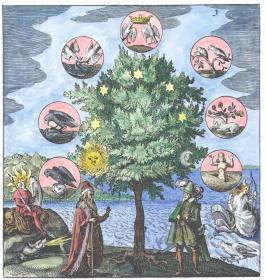 From Johann Daniel Mylius Philosophia Reformata Frankfurt 1622, Alchemical And Hermetic Emblems 1